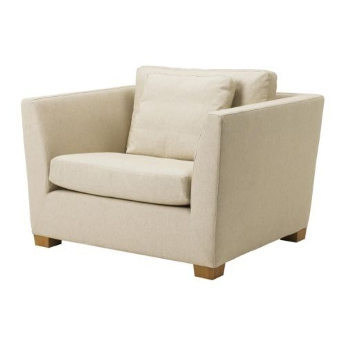 new ikea stockholm 1 5 seat armchair chair cover slipcover gammelbo beige ebay. Black Bedroom Furniture Sets. Home Design Ideas