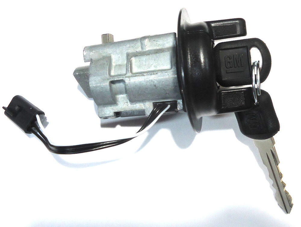 chevy cavalier pontiac sunfire oem ignition key switch lock cylinder w keys ebay. Black Bedroom Furniture Sets. Home Design Ideas