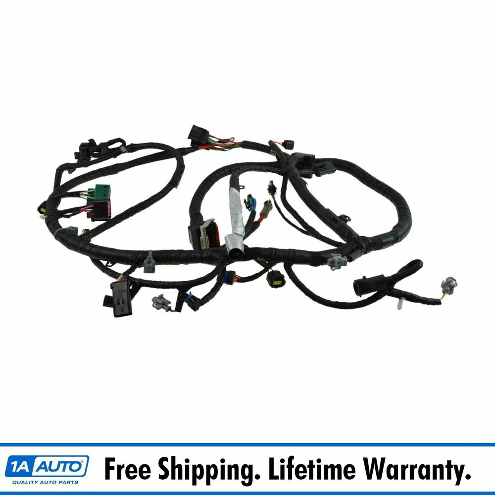 Diesel Wiring Harness Diagram Will Be A Thing Honda 4514 Schematic Oem Engine For 04 Ford F250 F350 Glow Plug