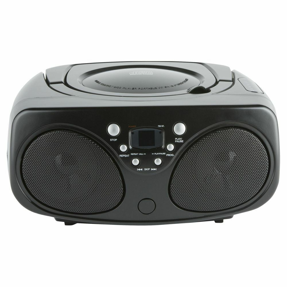 tesco bb1501 radio fm cd player boombox with. Black Bedroom Furniture Sets. Home Design Ideas