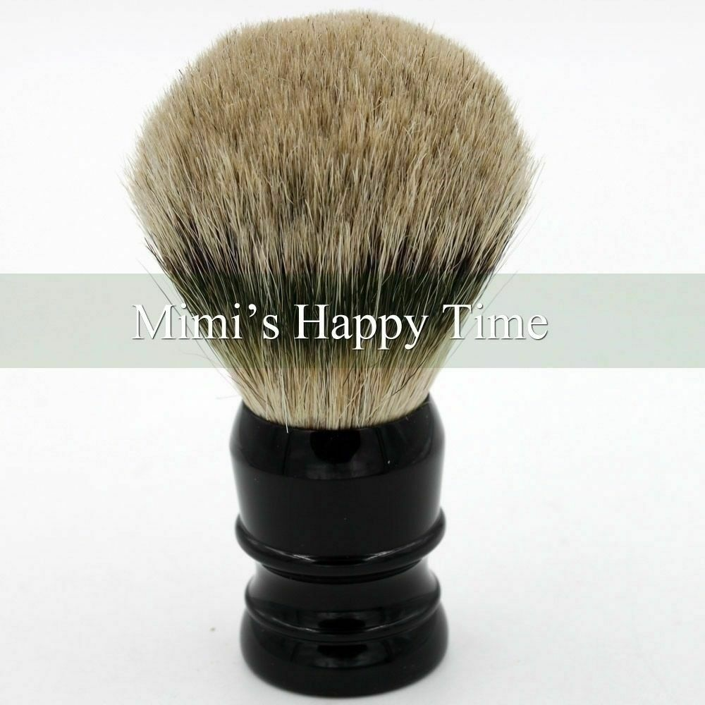 Extra Density 100% Silvertip Finest Badger Hair Shaving Brush 29mm Knot Black | eBay
