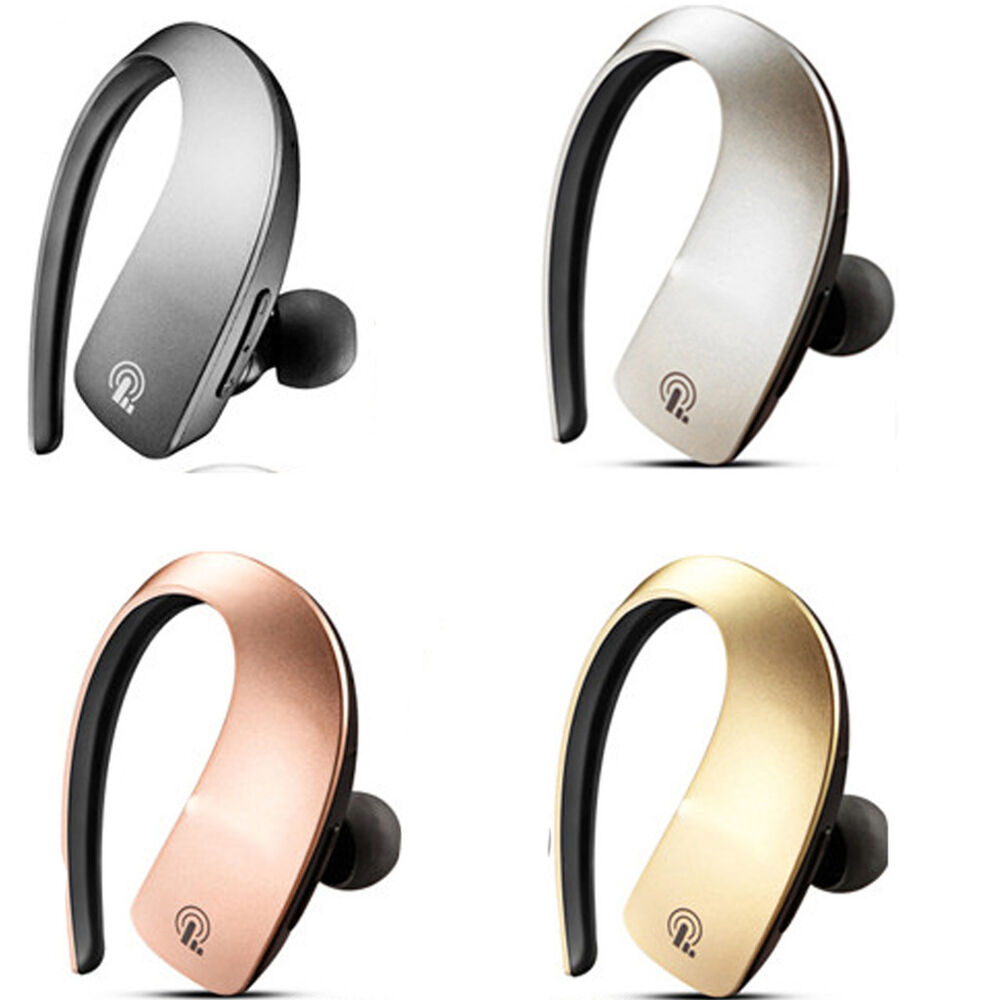 wireless noise cancelling stereo bluetooth headphones earpiece earphone headset ebay. Black Bedroom Furniture Sets. Home Design Ideas