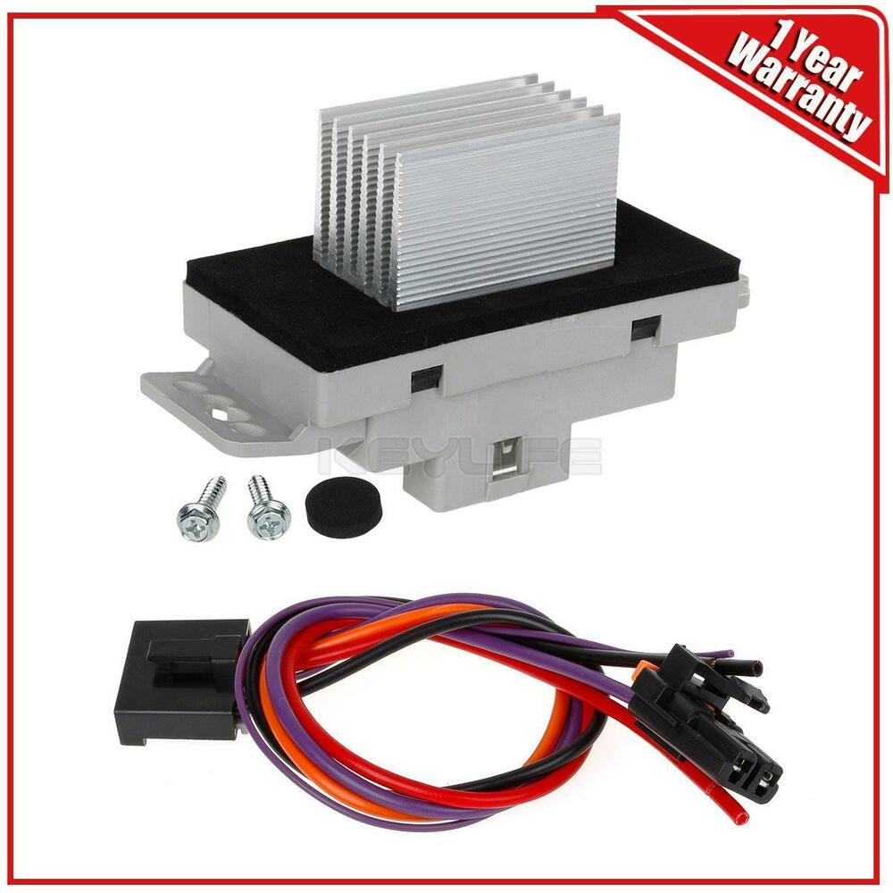 Air Blower Accessories : Blower motor resistor w plug for chevy