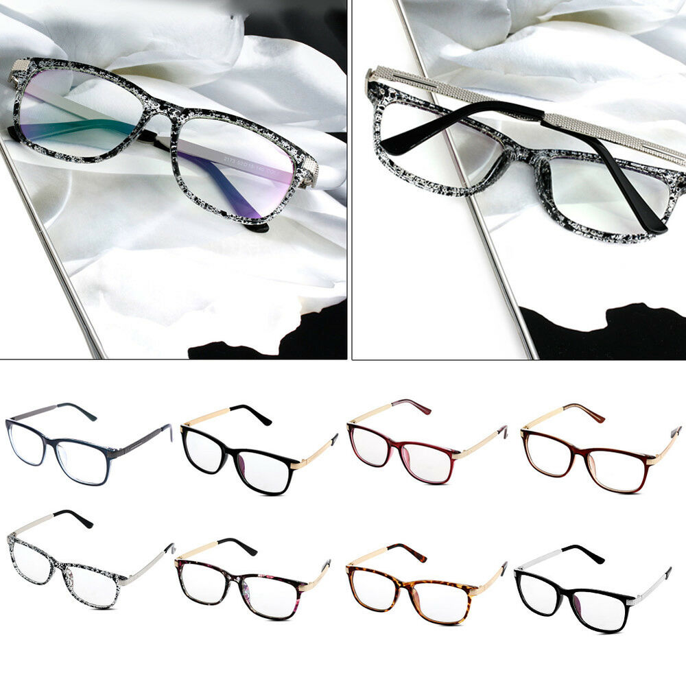 Vintage Men Women Eyeglass Frame Glasses Retro Spectacles ...