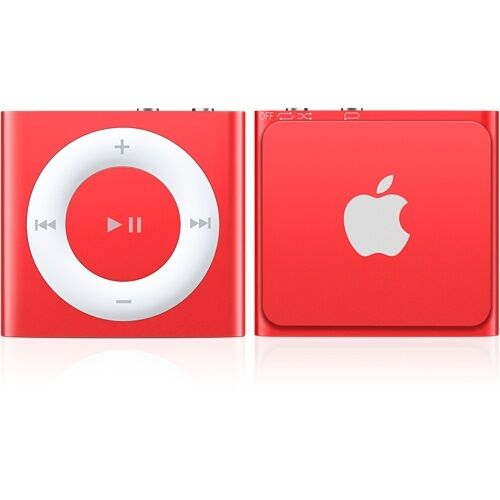 apple ipod shuffle 4th generation red limited edition 2. Black Bedroom Furniture Sets. Home Design Ideas
