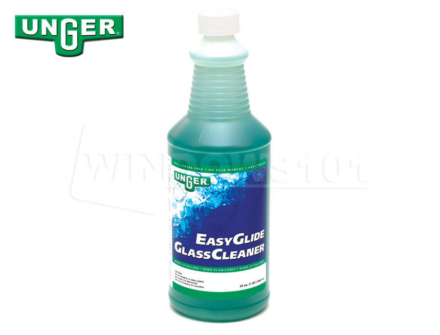 Unger Easy Glide Pro Formula Glass Cleaner Quart Window