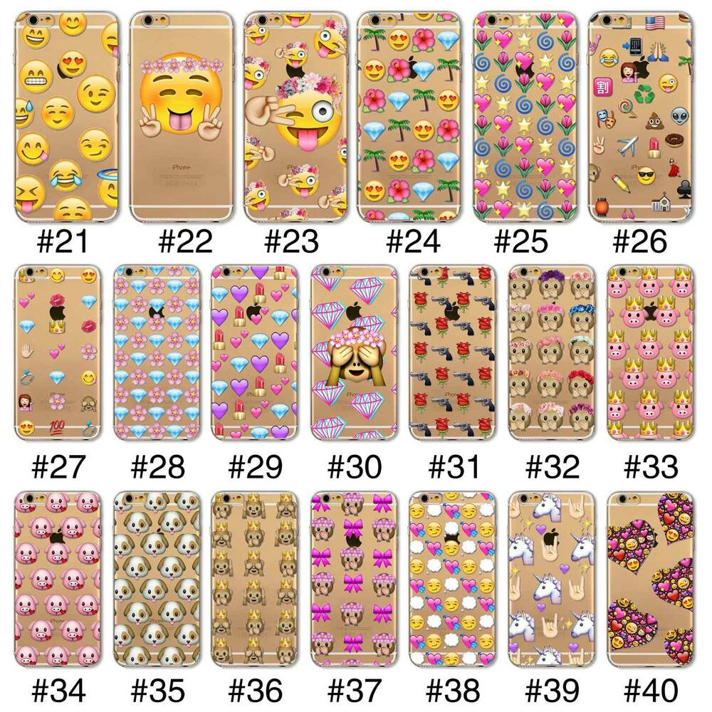 iphone 4 emoji emoji tpu cover for iphone 4s 5s se 6 6s plus 6p 10855