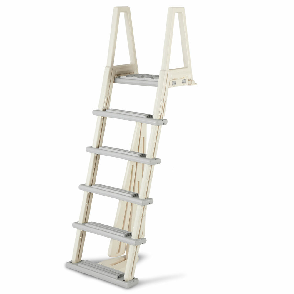 Confer Heavy Duty Above Ground Swimming Pool Ladder 48 54 Inches Gray 6000b Ebay