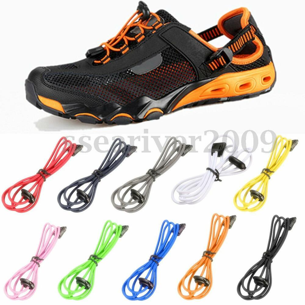 No Tie Shoelaces by LACEEZ™ shoes slip-on easy, stay-on secure. Best elastic shoelace design tips lock-in fashion, comfort, ease. FREE SHIPPING PROMOS.