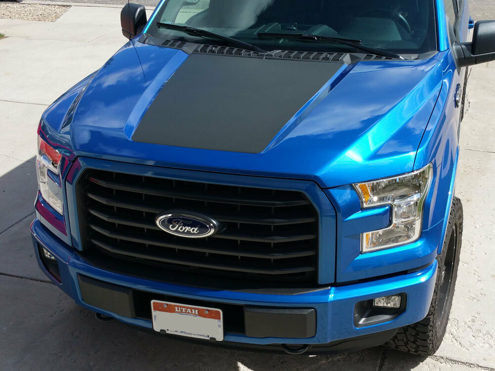 2015 2016 New Ford F 150 Hood Stripe Decal Vinyl Stickers