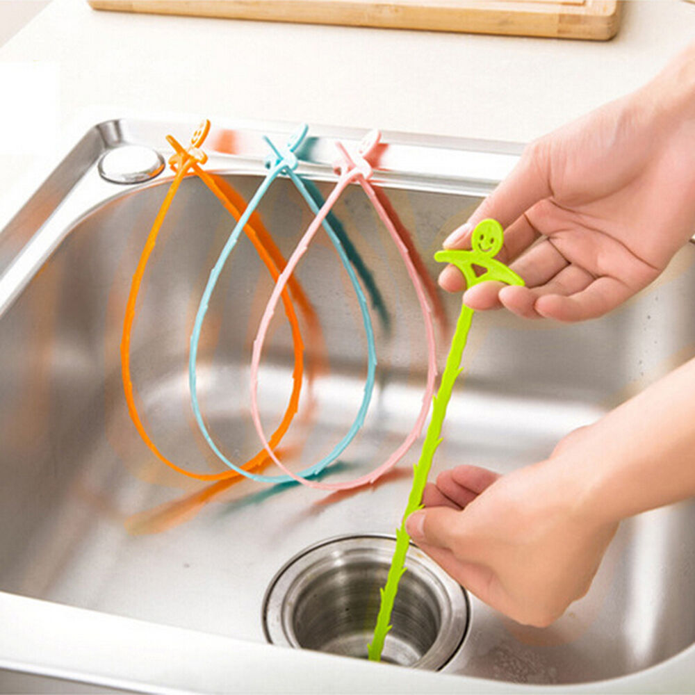 how to clean a shower drain clogged with hair