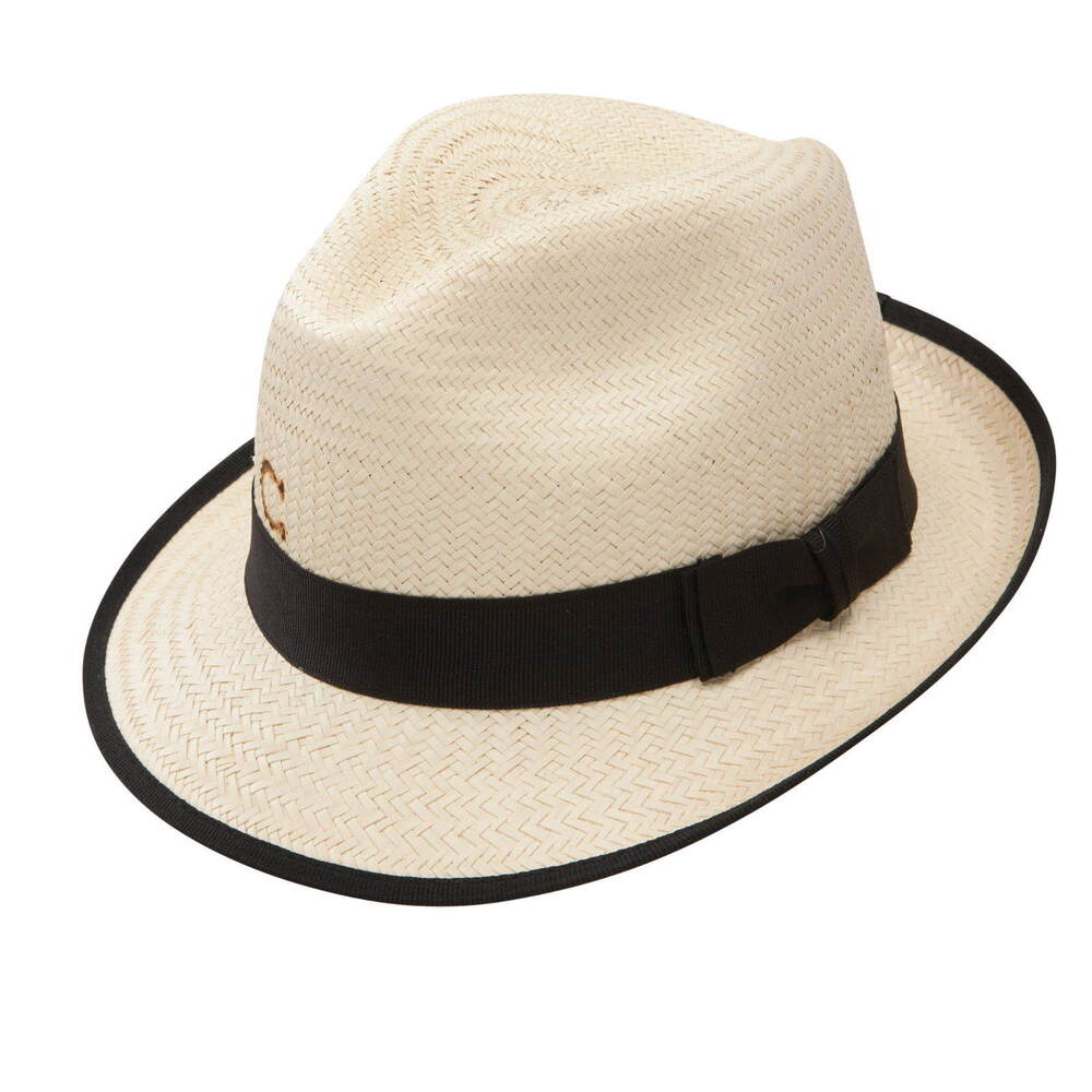 Details about CHARLIE 1 HORSE PLAYA MEXICAN PALM FEDORA HAT ba40a6e8f38
