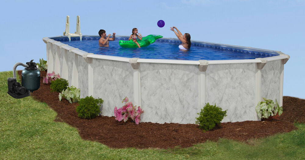 21 39 X 41 39 X 52 Above Ground Pool Complete Package 20 Yr Warranty Sterling Ebay