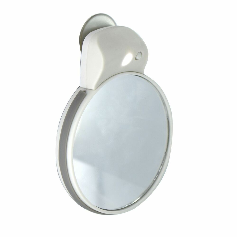Travel Shaving Cosmetic Make Up Mirror LED White Light Vanity Compact Portabl