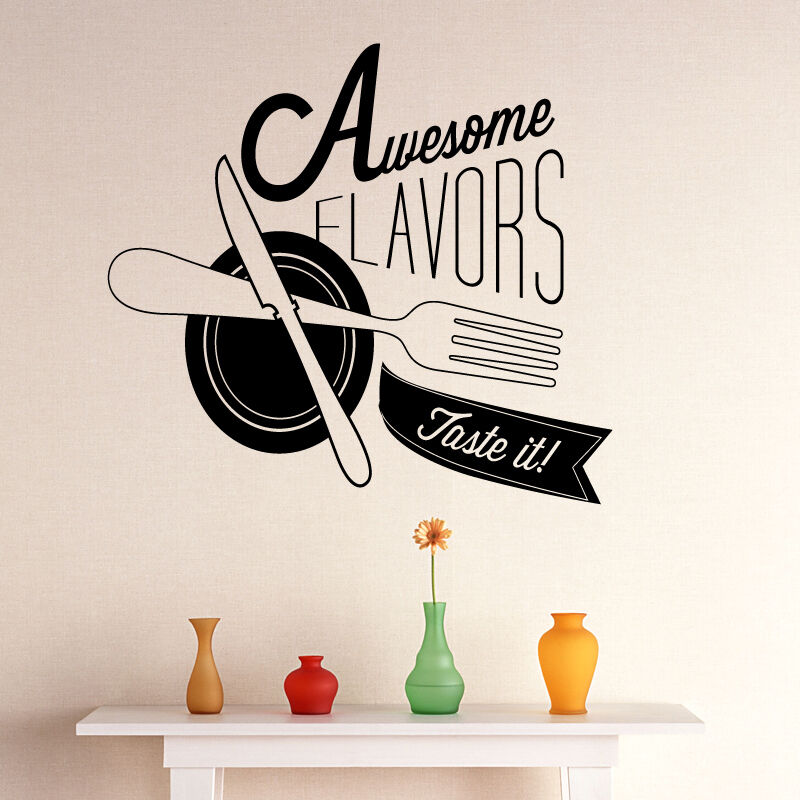 Kitchen Wall Sticker Ideas