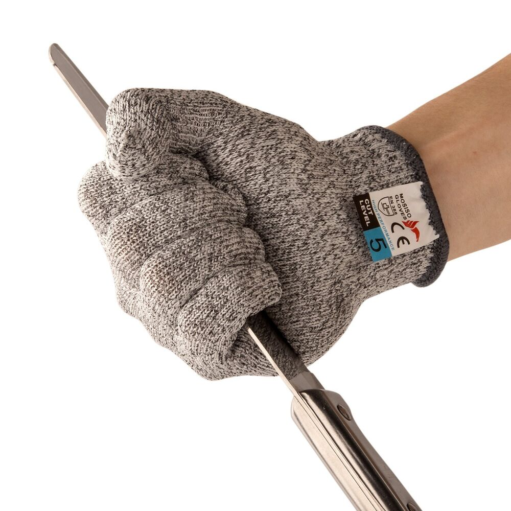 Cut Resistant Gloves Food Grade Kitchen And Work Safety Gloves Size M Ebay