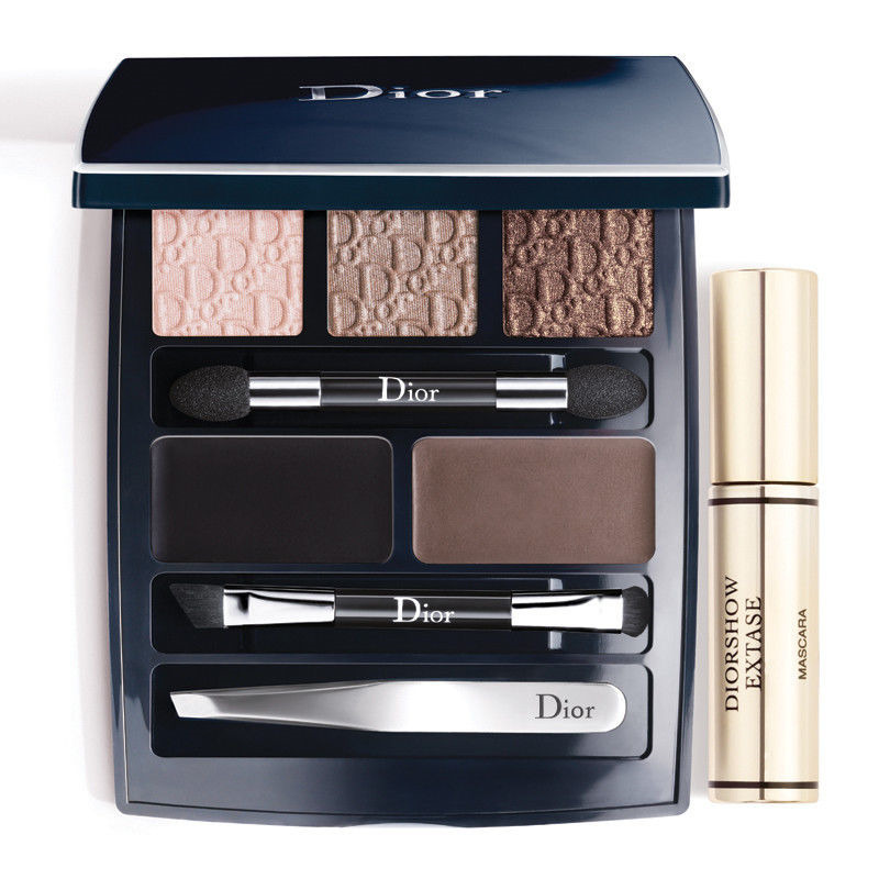 dior eye designer makeup palette mascara eyeshadow brow eye liner tweezers ebay. Black Bedroom Furniture Sets. Home Design Ideas