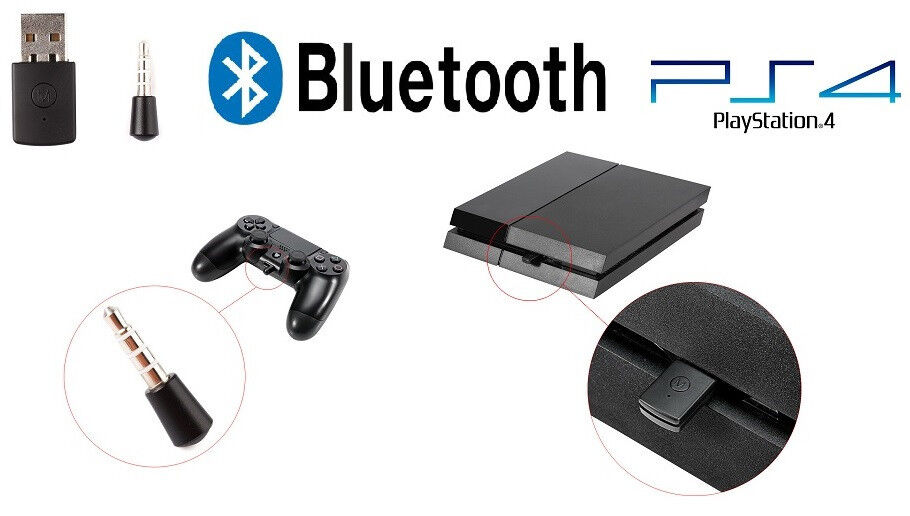 ps4 usb bluetooth adapter f r micro kopfh rer headset. Black Bedroom Furniture Sets. Home Design Ideas