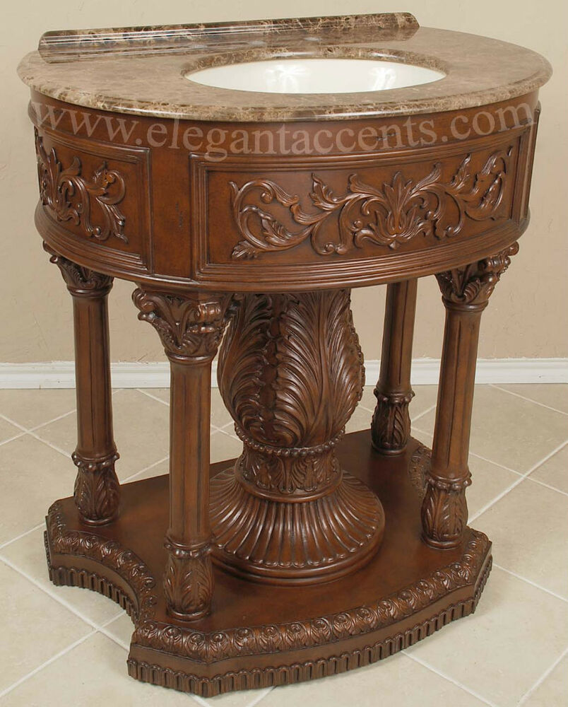 bathroom sink furniture cabinet 32 quot pedestal vanity sink cabinet bathroom furniture ebay 16509