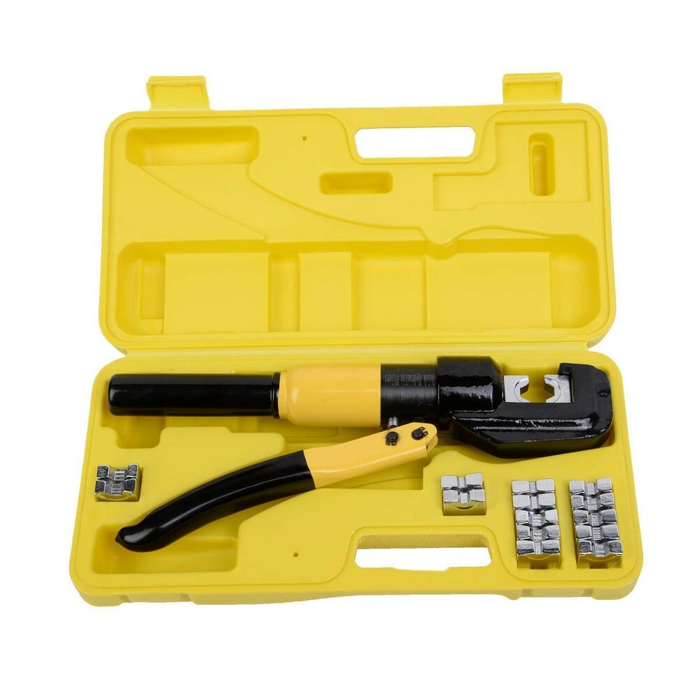 New 8 Ton Hydraulic Wire Terminal Crimper Battery Cable