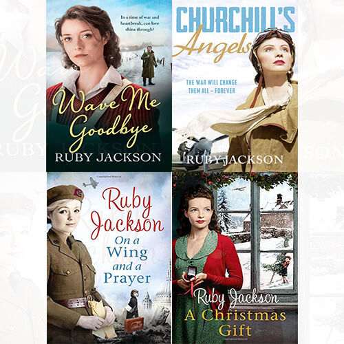 Churchills Angels Series 4 Books Collection Set By Ruby Jackson New
