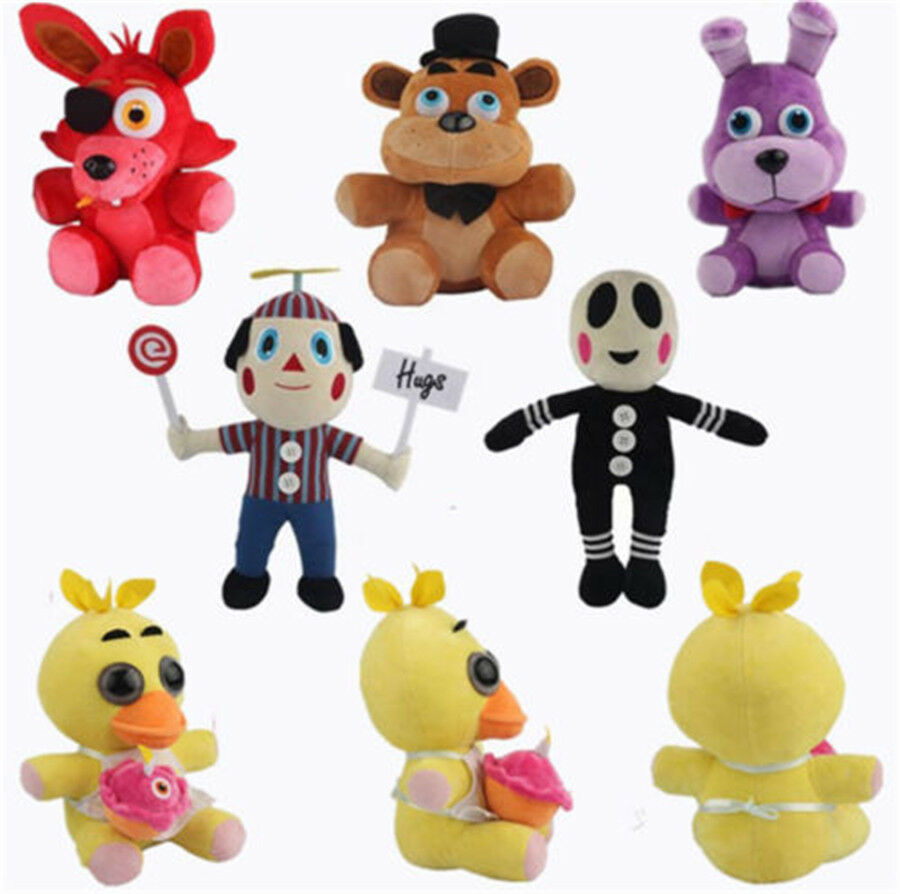 Kids FNAF Five Nights At Freddy's Chica Bonnie Foxy Puppet