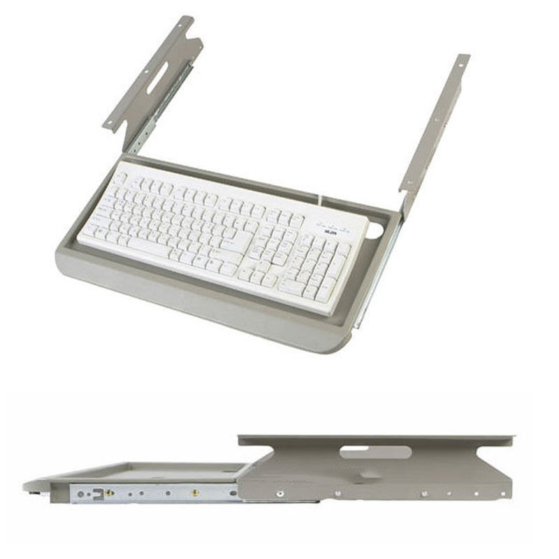 New Under Desk Fixing Slide Keyboard Holder Drawer