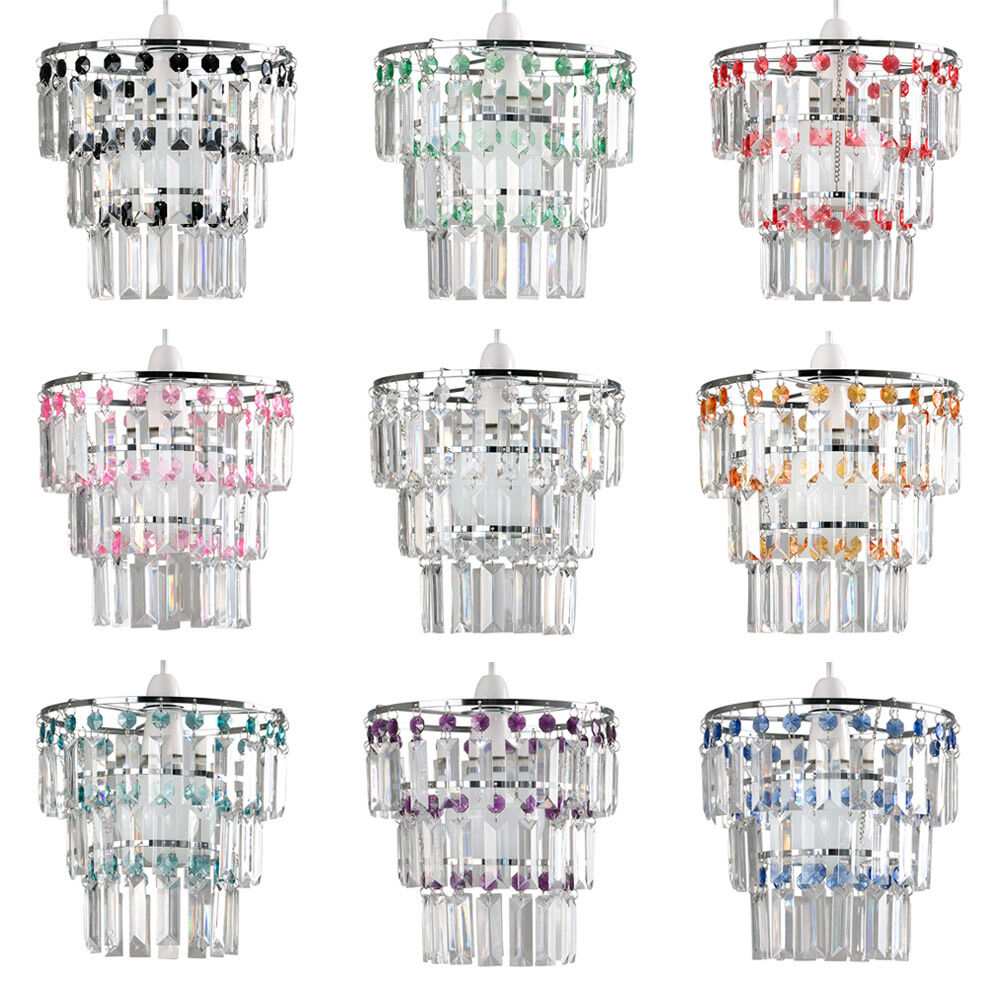 Modern 3 Tier Acrylic Crystal Ceiling Pendant Light Lamp