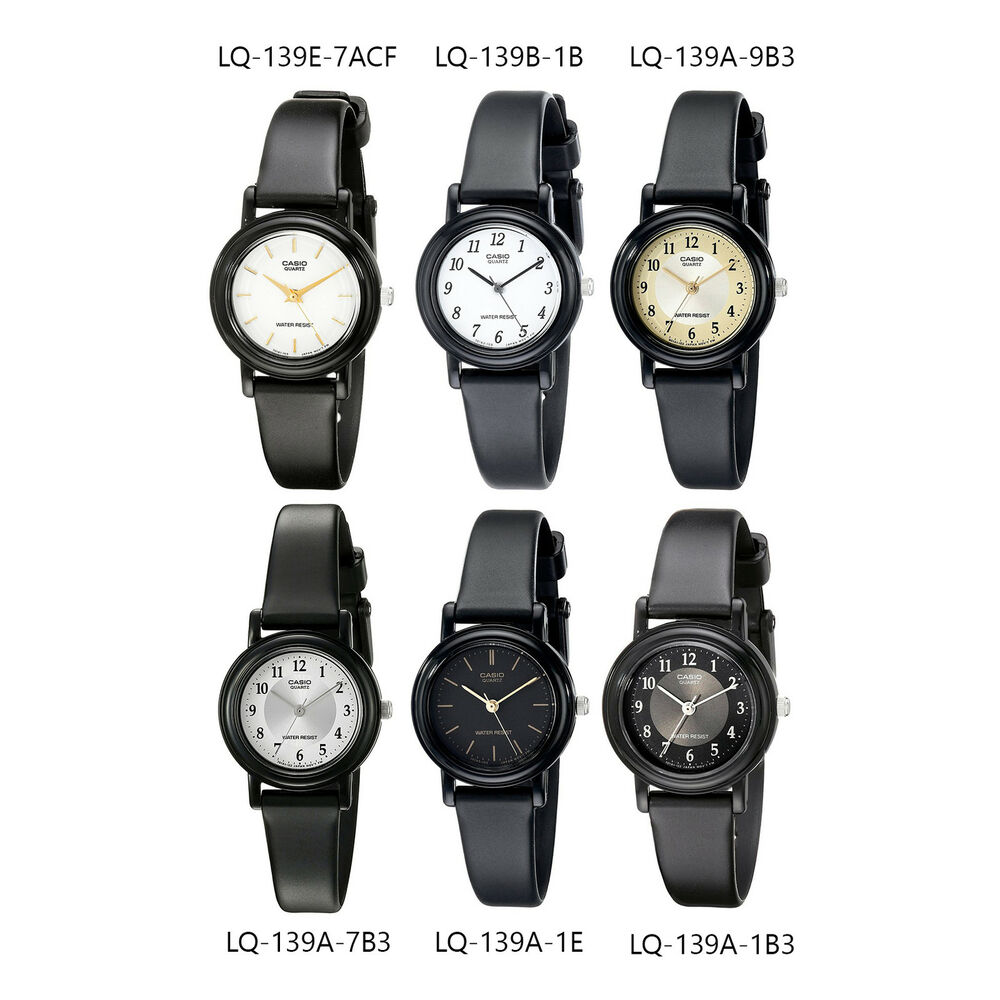 casio classic s analog water resistant resin band