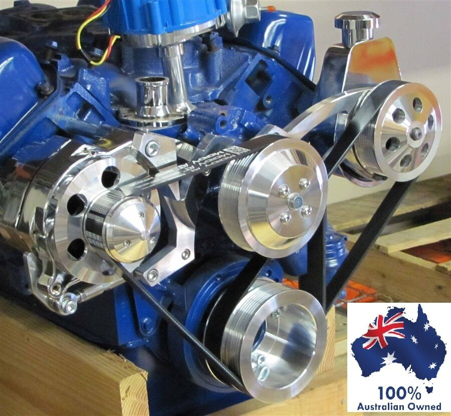 Used Small Block Ford Engines For Sale: FORD FALCON MUSTANG 351C CLEVELAND SERPENTINE PULLEY AND