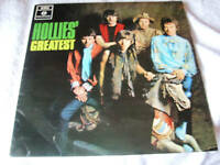 THE HOLLIES  LP HOLLIES GREATEST on parlophone