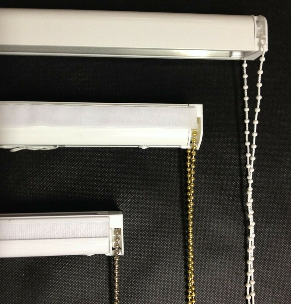 roman shade hardware kit cassette blind complete diy kit chrome white brass 4871