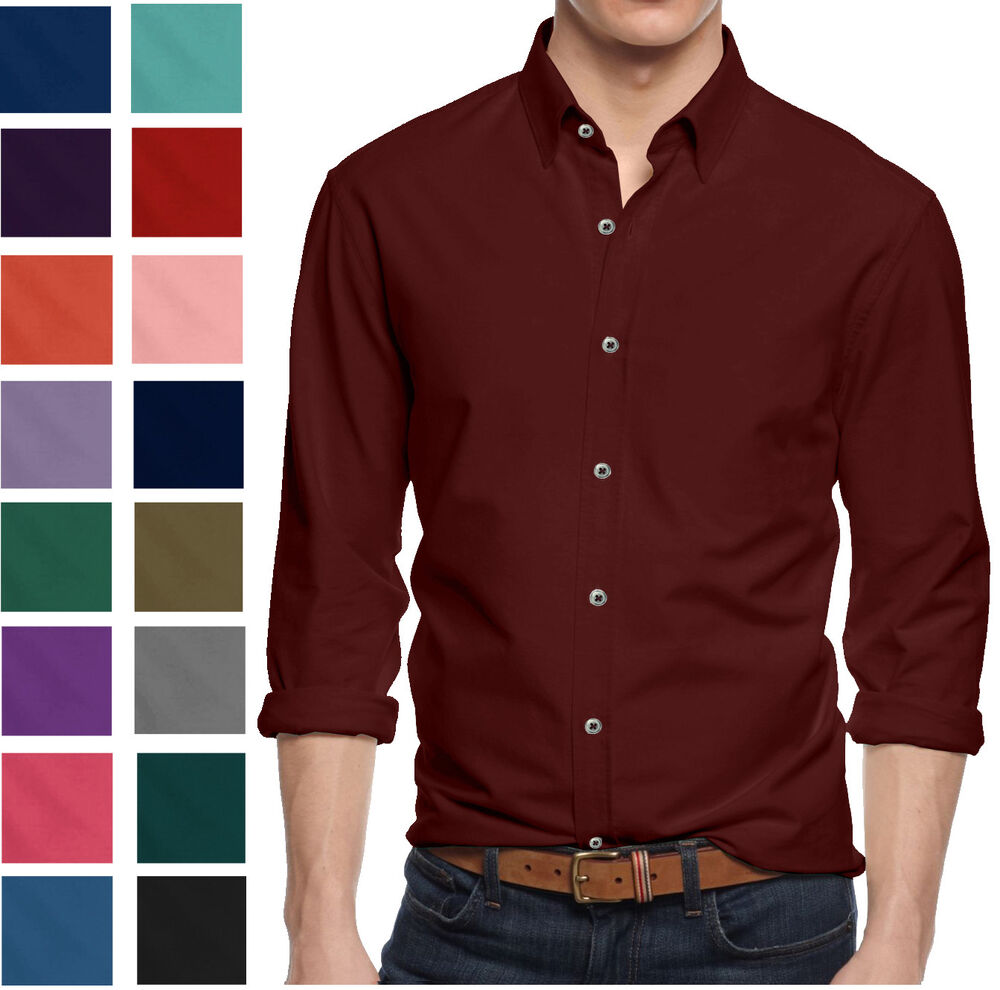 alta men 39 s long sleeve button down cotton slim fit pointed