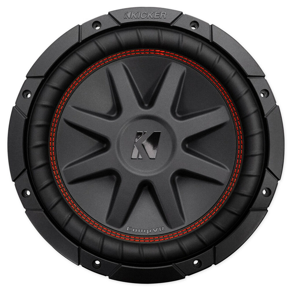 kicker 43cvr102 compvr 10 800 watt dvc 2 ohm car audio. Black Bedroom Furniture Sets. Home Design Ideas