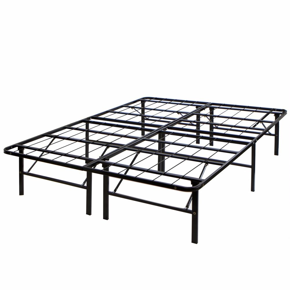 Modern bed metal folding platform frame mattress Metal twin bed frame