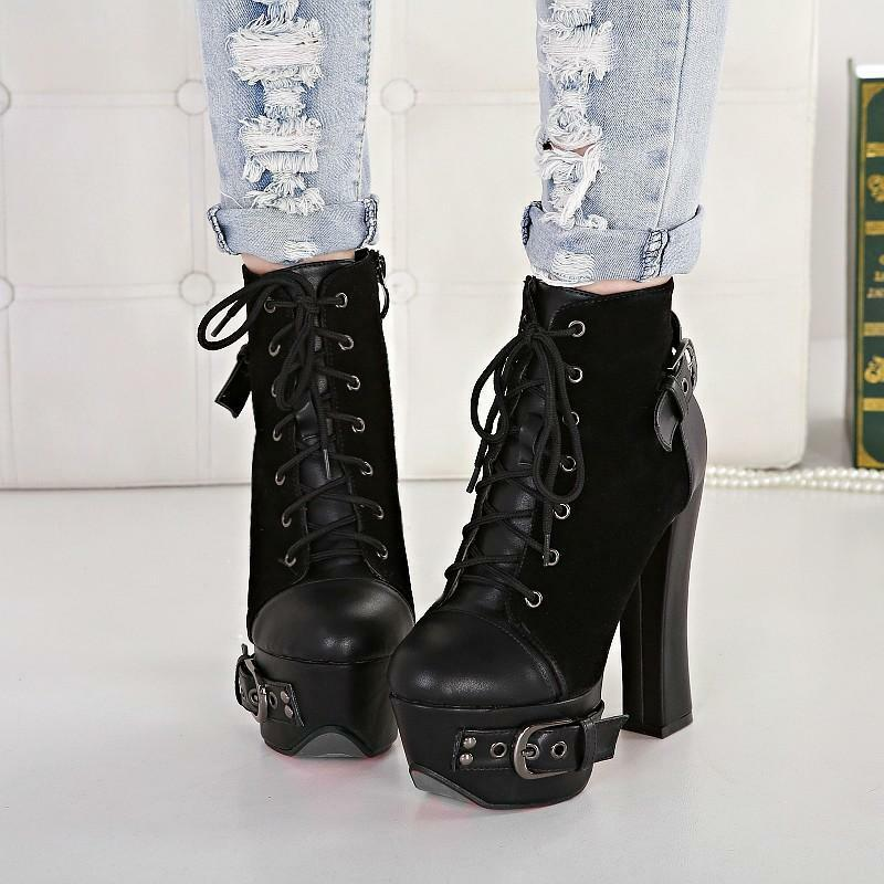 Lastest Womens Motorcycle Style Boots Ebay  New Fashion Style