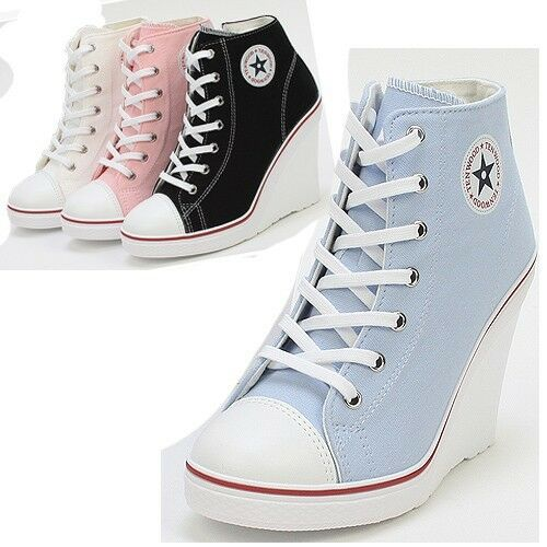 Nike Converse Wedge Shoes For Women