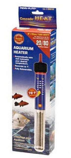 Cascade 200 watt submersible heater 10 inch for 55 gallon for 10 gallon fish tank heater