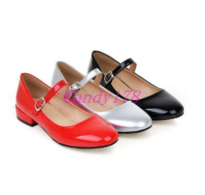 Women S Low Wedge Mary Jane Shoes