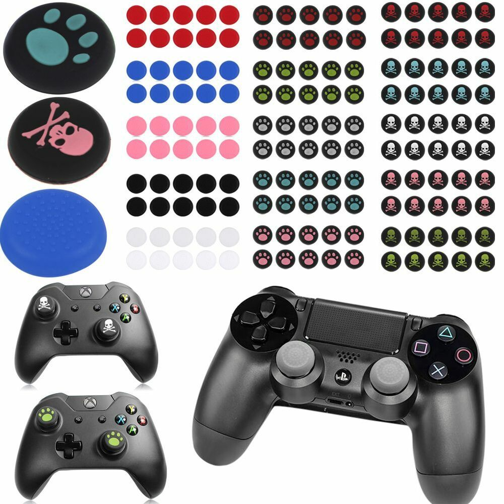 9fa36d11702 Details about 10X PS3 PS4 XBOX ONE 360 Analog Controller Thumb Stick Grip  Thumbstick Cap Cover