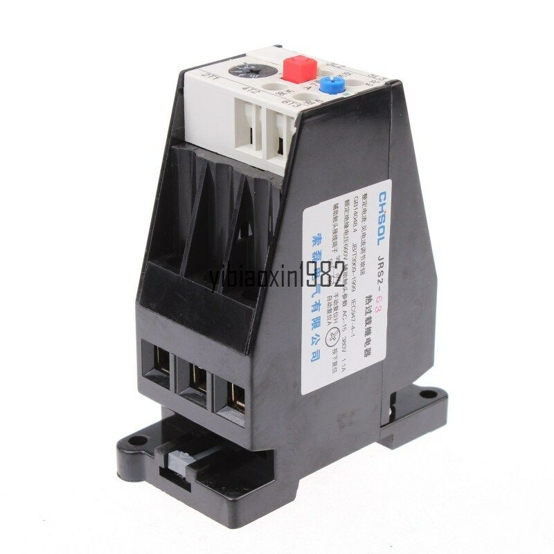 Ac 10a Motor Protection Thermal Overload Relay 1no 1nc