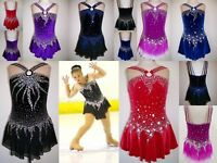 Ice/Roller Skating/Baton Twirling outfit/Dance Dress/Tap Leotard - Made To Fit