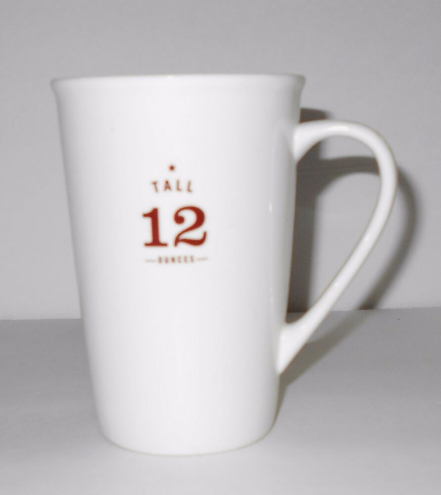 12 Cup Coffee Maker Is How Many Ounces : Starbucks Est. 1971 2010 Tall Size 12 oz ounces Coffee Mug Cup eBay