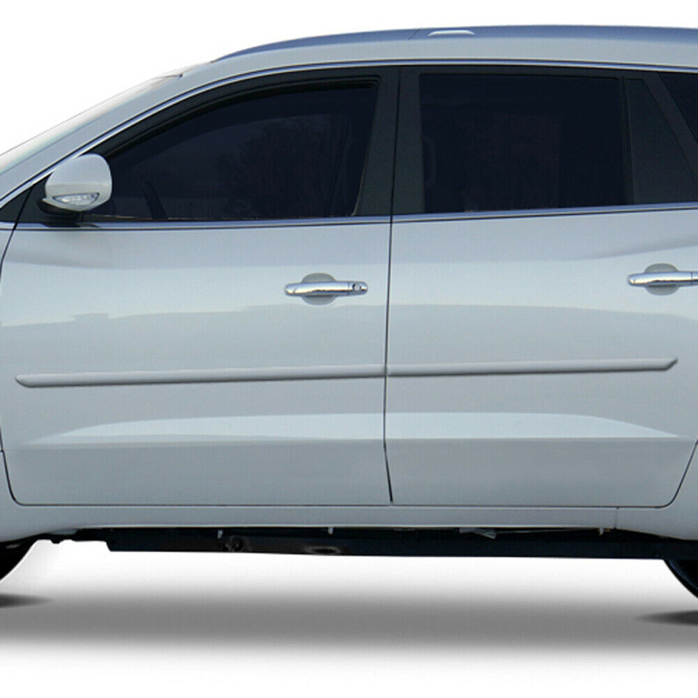 For: BUICK ENCLAVE; PAINTED Body Side Moldings Mouldings