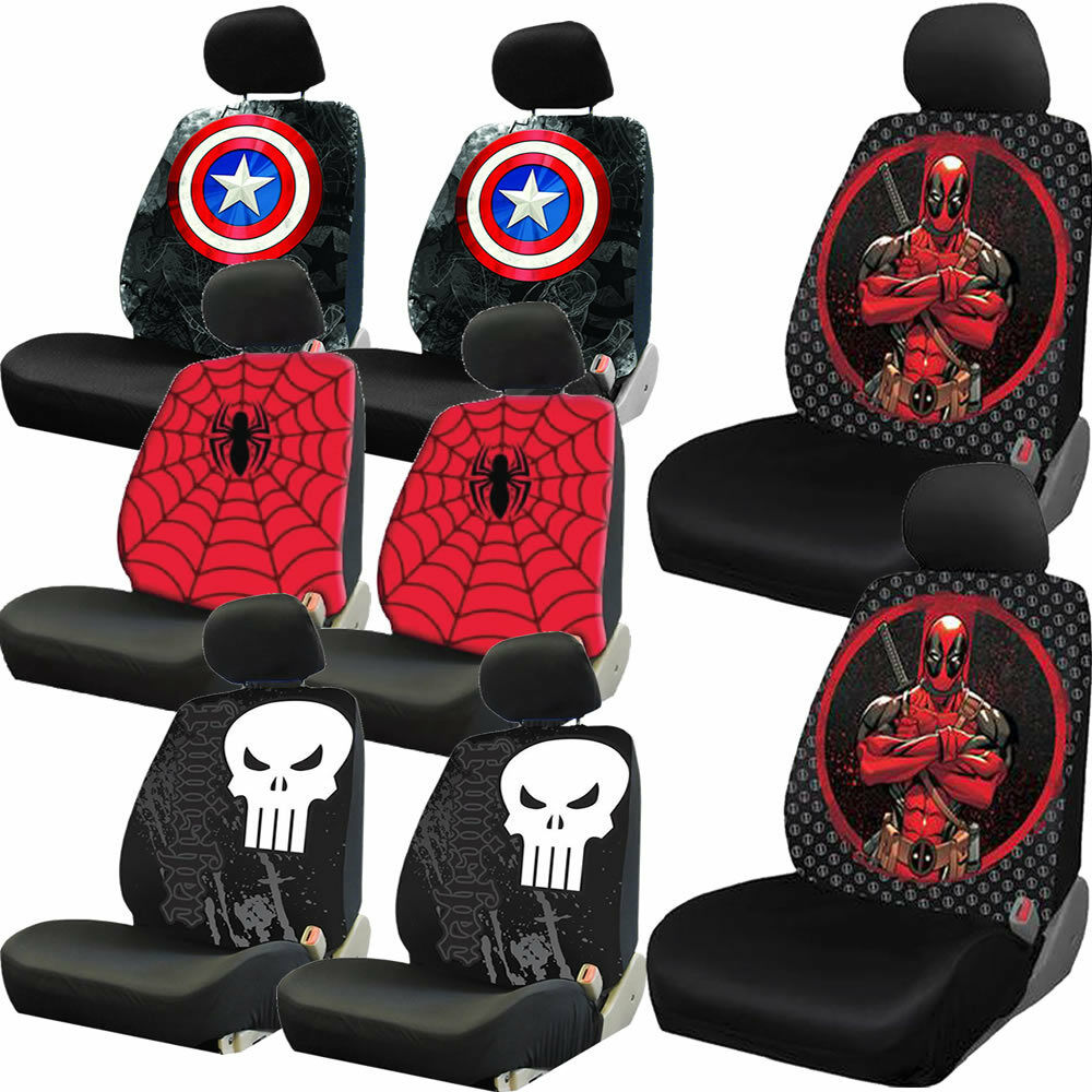 Avengers Car Seat Covers