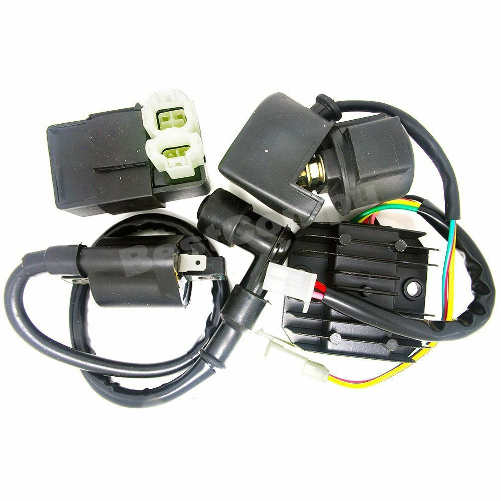 Ignition Coil Cdi Regulator Rectifier Relay Kit 150 200cc