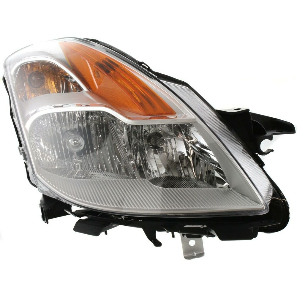 Headlights For 2006 Nissan Altima: Halogen Headlight For 2008-2009 Nissan Altima Coupe