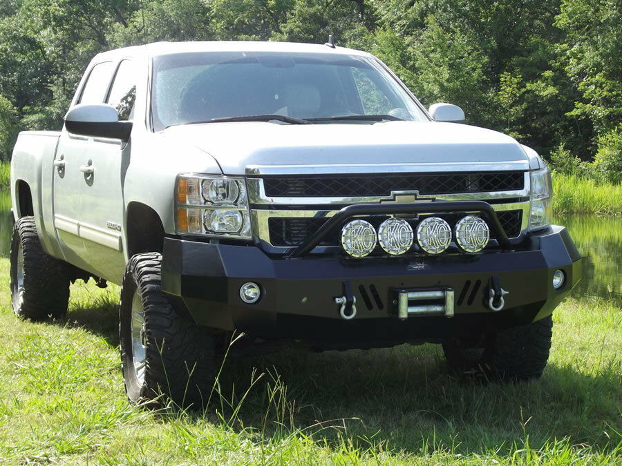 new panther winch front bumper 2011 2012 2013 2014 chevy 2500hd 3500 2500 ebay. Black Bedroom Furniture Sets. Home Design Ideas