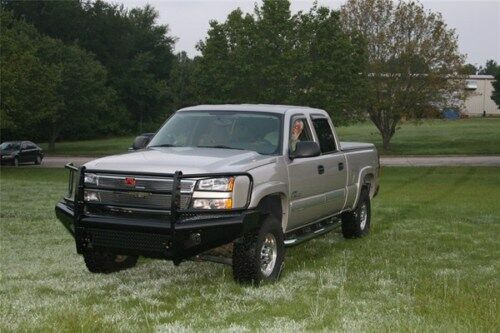 03 Chevy Front Bumpers : New ranch style front bumper chevy hd