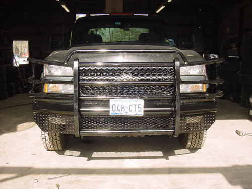 03 Chevy Front Bumpers : New ranch style front bumper chevy